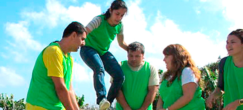 Team Building en Sierra de Sevilla