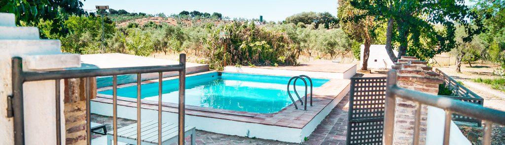 casa con piscina vacaciones